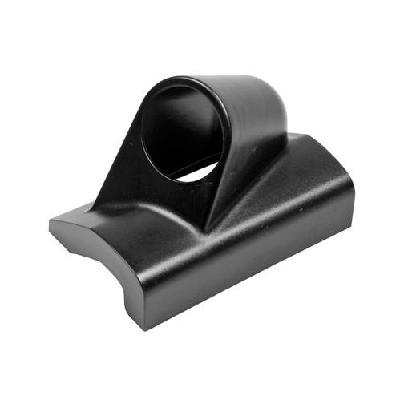 GAUGE POD LEFT, 1 HOLE BLACK