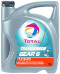 TOTAL TRANSMISSION GEAR 6 75W85 5L