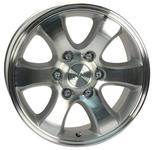 ACC Magnum Silver Polished 110,1 15x7,5 6x139,7 Offset 30