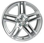 ACC Taifun Silver Polished 73,1 18x8 5x108 Offset 45